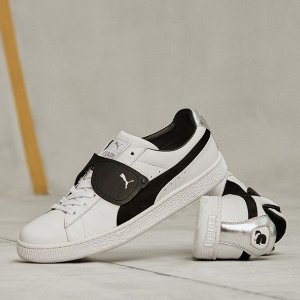 强强联合 £130收封面经典Logo合作款运动鞋上新:PUMA X KARL SUEDE 联名款火爆上市