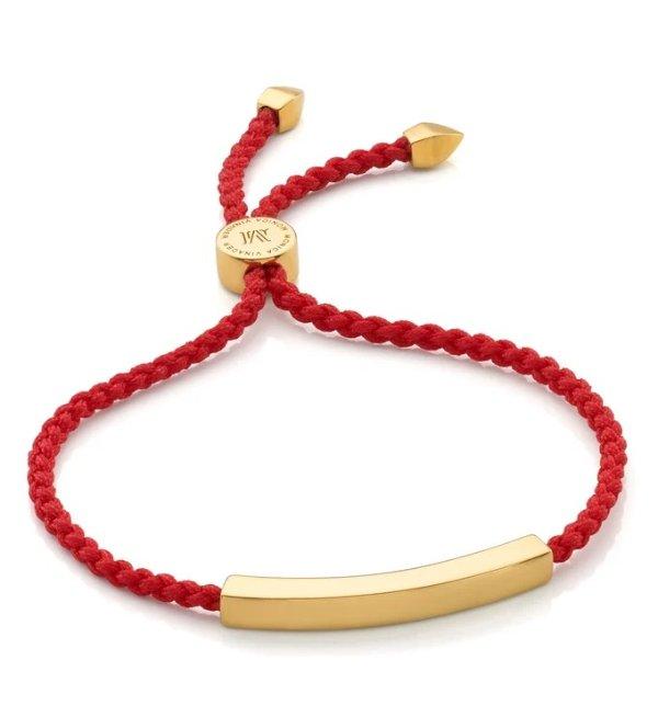 金色小红绳
