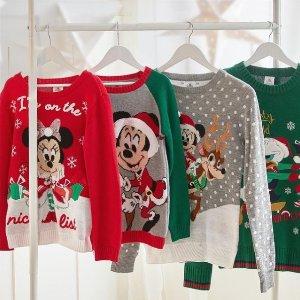 满£50享8.5折 满£65享8折即将截止:Disney官网 精选玩具、周边好价 收招牌公仔、圣诞家居服