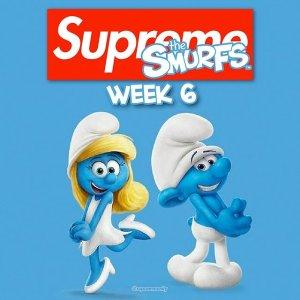 本周四全网发售预告:Supreme x 蓝精灵 系列强势来袭 久违的动画联名