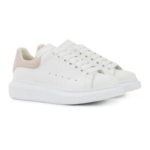 Alexander McQueen再拼单$10享8折粉尾小白鞋