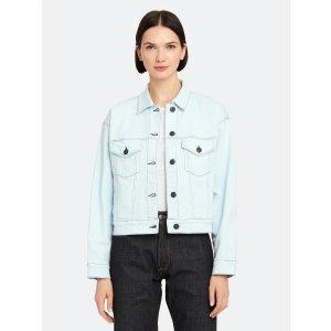 3x1Oversized Classic Crop Jacket