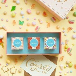 满$25免费得经典玫瑰软糖1盒最后一天:Sugarfina 高颜值精装糖果巧克力大促