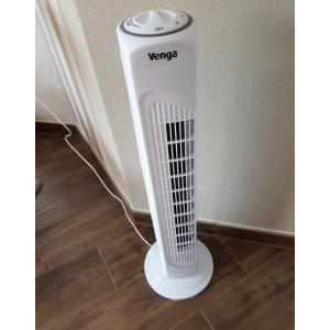 折后仅€19.9 小空间友好白菜价:Venga 立式电风扇 3档风速调节 分分钟送去清凉
