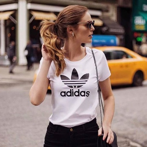 $21.90adidas Originals Women's Trefoil Tee