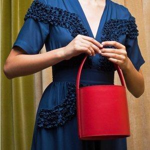 9折 收明星博主同款Staud 网红最爱文艺风专场 封面水桶包也有
