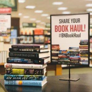 Buy 1 Get 1 50% Off + $10 RewordsBarnes & Noble Paperback Favorite and Textbook Sale
