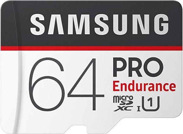 SAMSUNG 64GB PRO Endurance 高耐久 microSDXC 存储卡