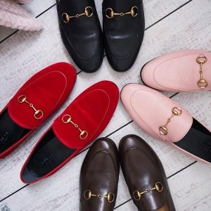 Up to $1500 giftcardGucci women's shoes @ Barneys New York