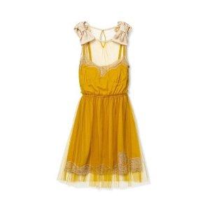 单品预览,9月14日发售Rodarte for Target 蕾丝裙