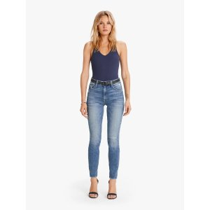 Mother DenimThe High Waisted Looker Ankle - Popism