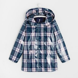 JacadiGirl hooded raincoat