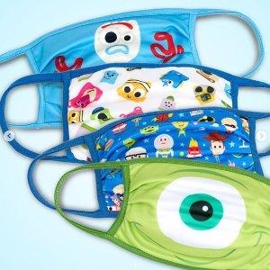 £20/4只 大人儿童尺码都有Disney 布口罩 可反复使用 卡通图案超萌哦