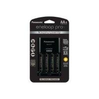 Panasonic Eneloop Pro AA 5号电池 4节装 带充电器