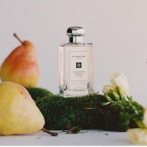 满送2件好礼Jo Malone London 香氛蜡烛热卖 收英国梨与小苍兰限定波浪瓶