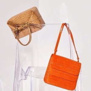 最高减$900 美衣美包来凑单Rejina Pyo 抽象艺术派代表 复古扁盒子包颜色齐