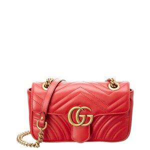 GucciGG Marmont Mini Matelasse Leather Shoulder Bag