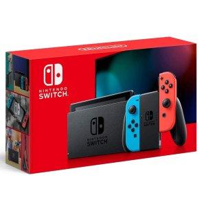 Nintendo Switch 32GB 续航增强版 红蓝款