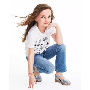OshkoshDoorbuster女童、大童牛仔裤