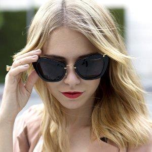 8折MIU MIU 精选超时髦太阳眼镜热卖