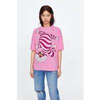 Zara 粉色T恤