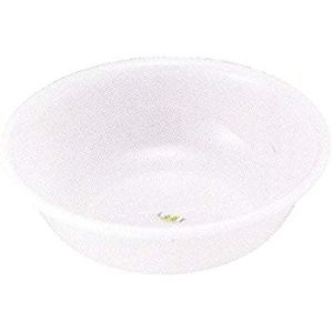 Amazon.com: JapanBargain S-3051,Japanese Plastic Basin Tub Leaf Series White: Home & Kitchen
