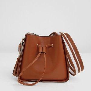 Daisy - Tan Bucket Bag