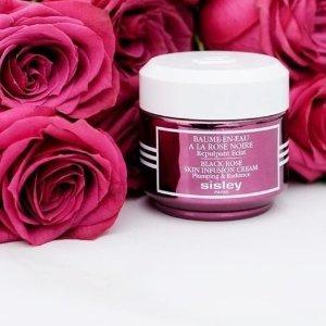 低至74折+ 额外81折, 收黑玫瑰护肤精油Sisley 法国贵妇黑玫瑰系列等护肤品 限时热卖