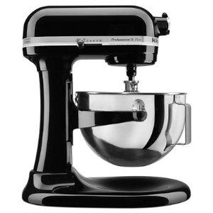 KitchenAidOnyx Black Professional 5™ Plus Series 5 Quart Bowl-Lift Stand Mixer KV25G0XOB   KitchenAid
