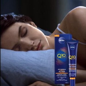 $11.47(原价$19.97)妮维雅 Q10+维C抗皱晚安面霜 夜间滋润修复 改善倦容