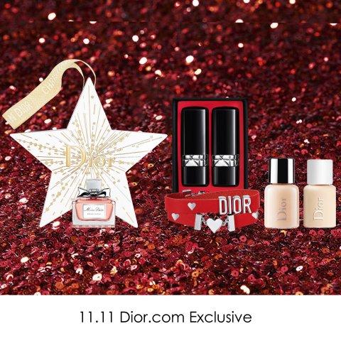送手链礼包6件套+彩妆3件套即将截止:Dior 全场护肤彩妆产品热卖 收绝美倒数日历