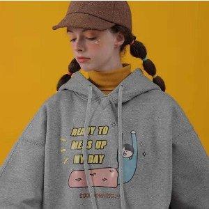 送任意T恤和特定卫衣 好价继续PRODBldg 精选趣味卫衣热卖 圣诞前夕大促