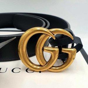 8.5折!封面3cm款250就入Gucci 热促升级 Marmont、GG腰带、围巾等秋冬好物入