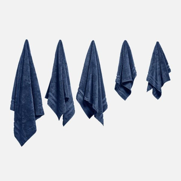 100% 埃及棉毛巾5条