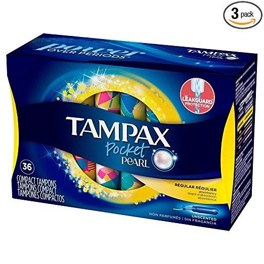 普通流量 卫生棉条 36条x3盒 108条