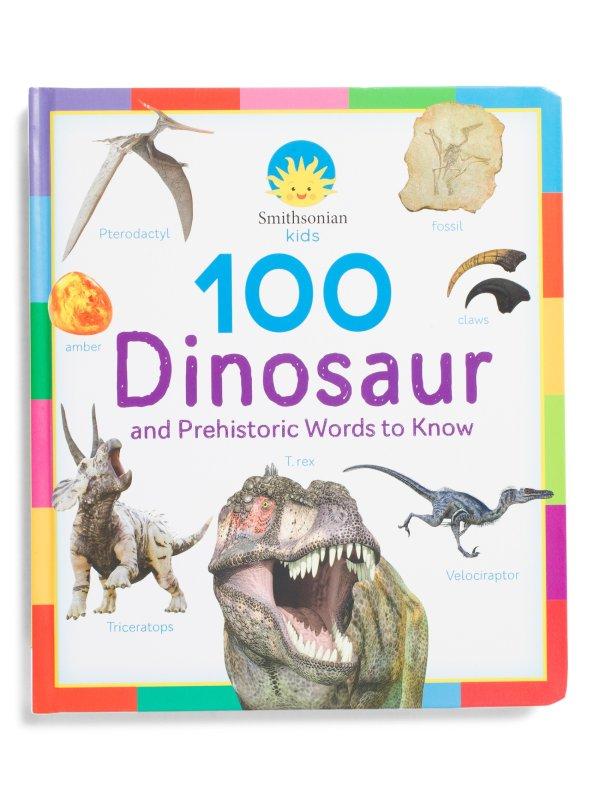 史密森 100个恐龙单词