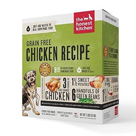 人食用级脱水狗粮 鸡肉味 2磅