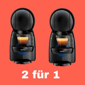 平均€27.5一个  原价€79.9KRUPS 胶囊咖啡机 买二付一 快来和好朋友拼单