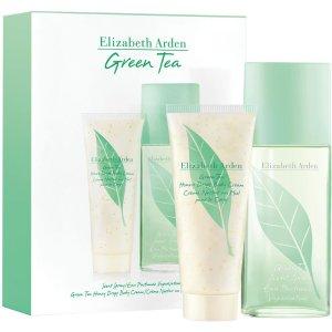 $43.5(原价$58)+送阿玛尼香水小样Elizabeth Arden 绿茶香水+身体乳2件套x100ml 春风拂面小清新