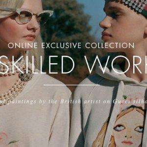 只限网上购买Gucci unskilled worker 系列火热上市