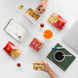 5月9日-6月9日McDonalds 麦当劳2019第二季度优惠券出炉
