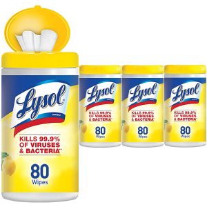 Lysol Disinfecting Wipes, Lemon & Lime Blossom, 320ct