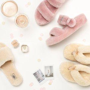 低至4折+额外9折UGG 精选舒适居家拖鞋、乐福鞋促销 宅家必备