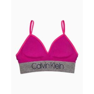 Calvin Kleingirls logo longline bralette