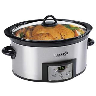 $39.99 (原价$59.99)史低价:Crock-Pot 6夸脱慢炖锅