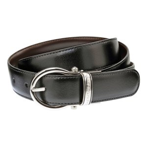 MontblancCasual Oval Reversible Leather Belt 105123
