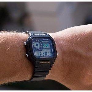 $12.25CASIO 卡西欧 AE-1200WH-1A 经典男士手表
