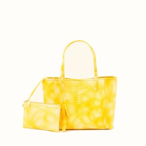Nancy GonzalezMedium Erica, Yellow Multi Python