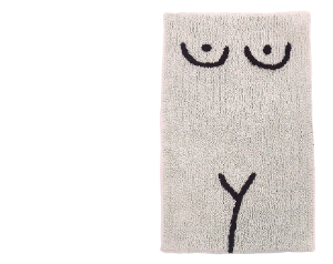 Torso Bathmat – Cream