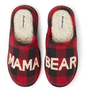 低至3折限今天:Dearfoams  冬日雪地靴、毛毛拖鞋 热卖